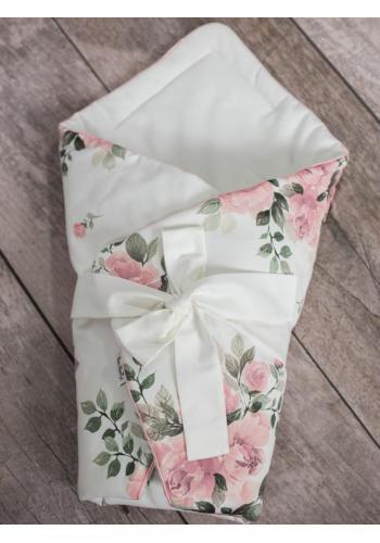 Zavinovačka pre bábätka s kvetinovým motívom