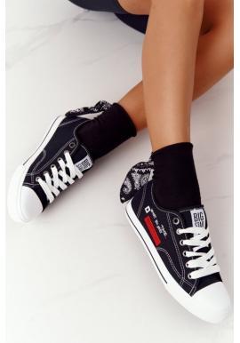 Big Star tenisky pre dámy v čiernej farbe