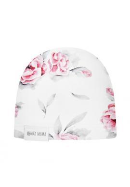 Bavlnená čiapka pre dievčatá-IN BLOSSOM