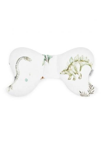 Detský bavlnený vankúš motýľ s motívom dinosaurov