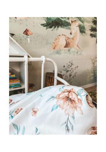 Detská bavlnená sada na spanie s výplňou - BLOOM REVIVAL