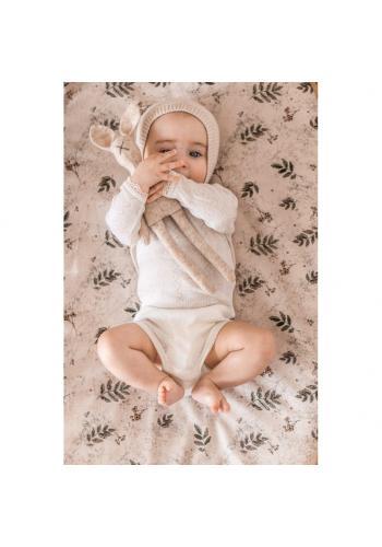 Detské prestieradlo na posteľ s gumkou s motívom tropických vibrácií