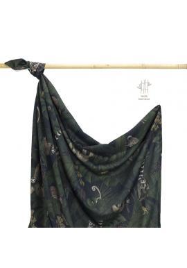 Bambusová deka na leto s motívom detektívov z džungle