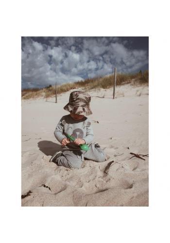 Detský bavlnený klobúk s motívom tropických vibrácií