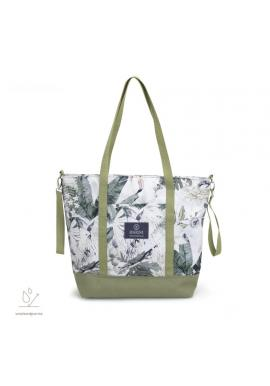 Nákupná taška s motívom tropických vibrácií