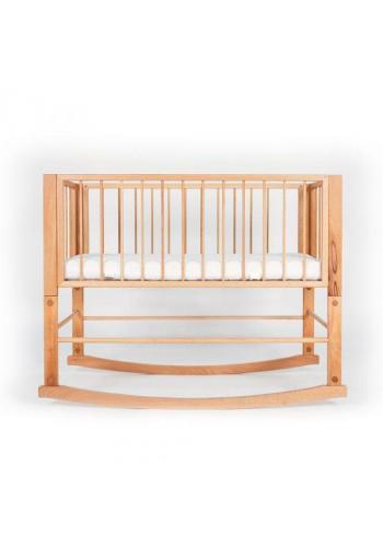 Hojdacia postieľka SIMPLE pre bábätka - prírodný buk