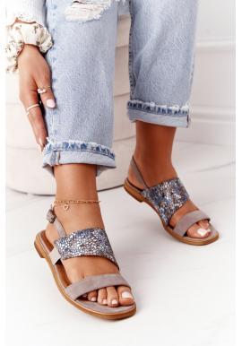 Dámske kožené sandále značky Maciejka