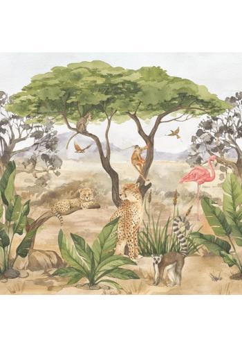 Tapeta na stenu zo sveta divokých zvierat
