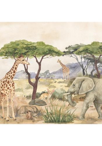 Detská tapeta na stenu Safari