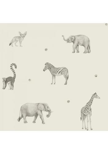 Tapeta na stenu s motívom divokých zvierat
