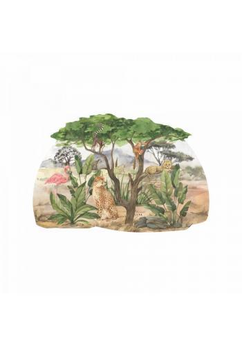 Nástenná nálepka so Safari motívom