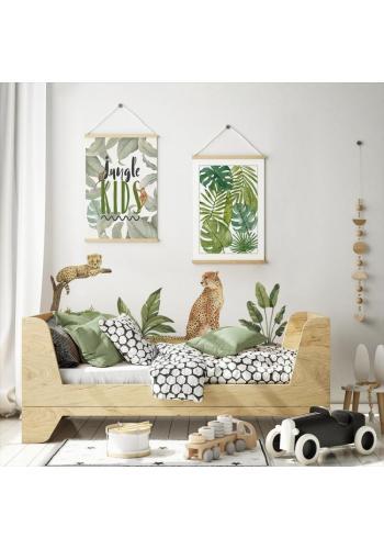 Nástenný safari plagát s motívom rastlín
