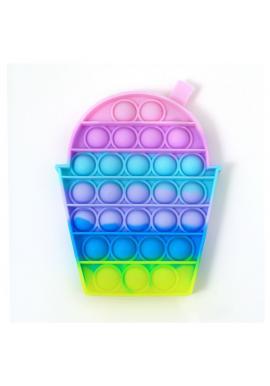 Farebná senzorická antistresová hračka v tvare ľadovej drte