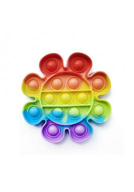 Antistresová senzorická hračka PUSH POP BUBBLE v tvare kvetu