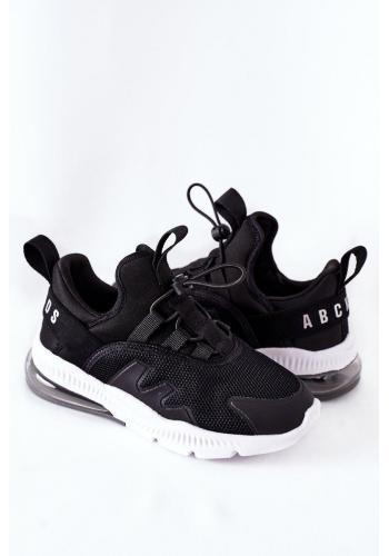 Športové detské Sneakersy čiernej farby