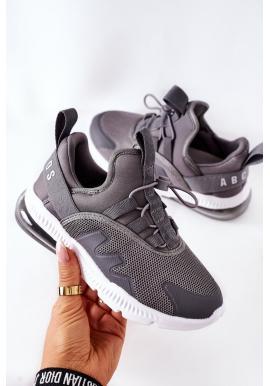 Detské športové Sneakersy v sivej farbe