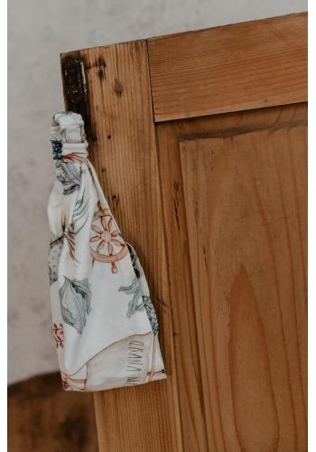 Bambusová elastická čelenka pre dievčatá - svet oceánu