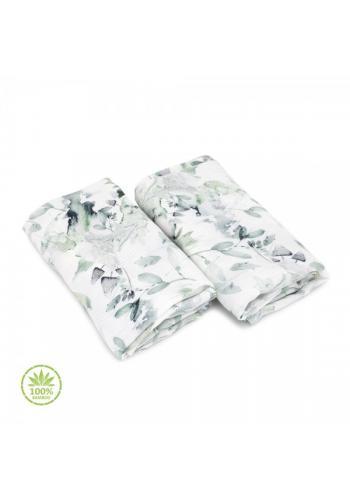 Detské bambusové plienky - šalvia zelená