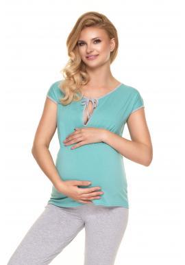 Mätové dvojdielne tehotenské a dojčiace pyžamo