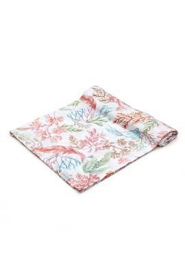 Mušelínovo-bambusová deka - Flóra