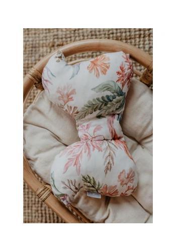 Bambusový detský vankúš v tvare motýľa - Flóra