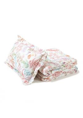 Bavlnená sada do postele s výplňou - Flóra