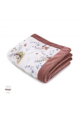 Teplá zamatová deka pre deti s motívom víl