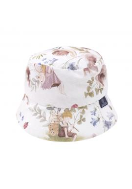 Detský bavlnený klobúk s motívom víl